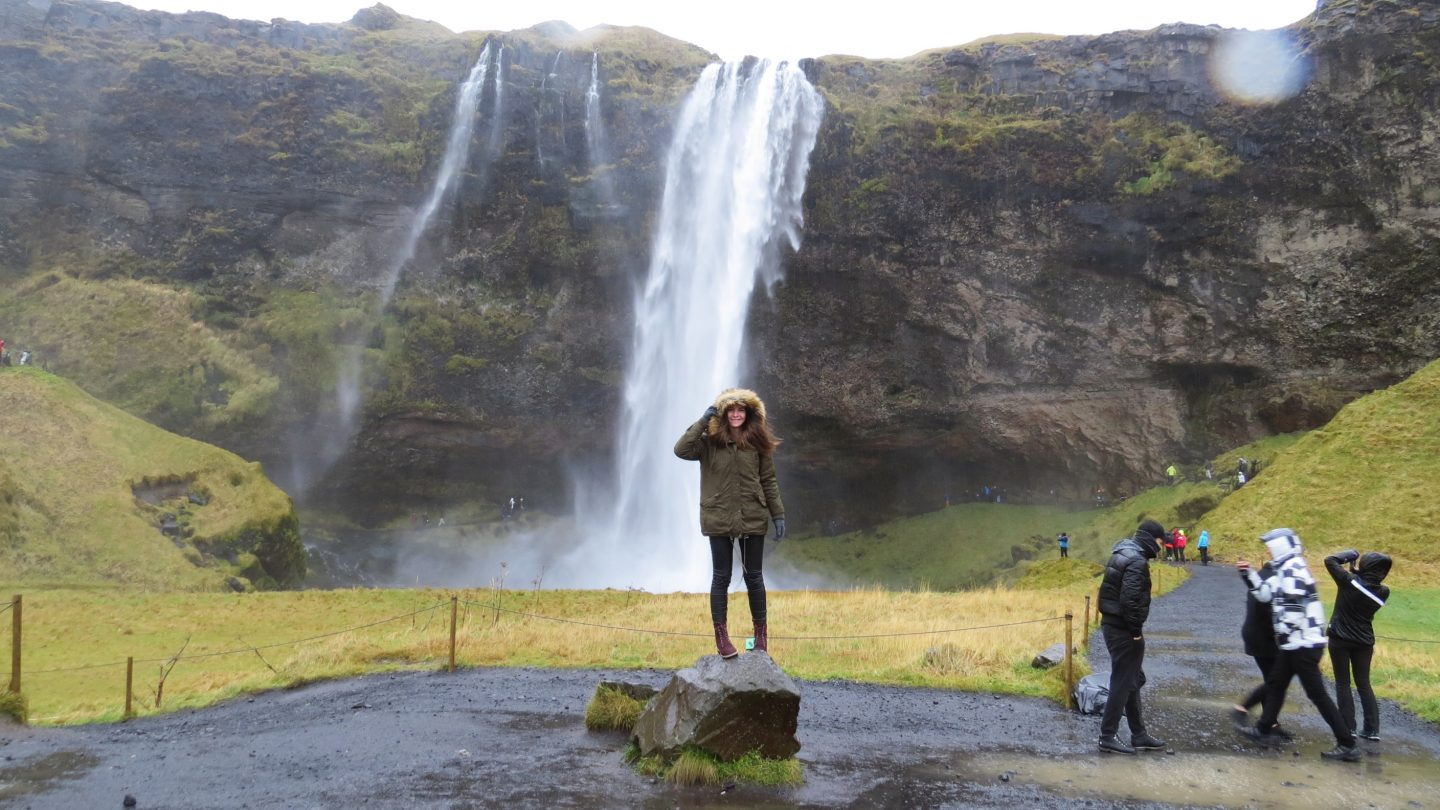 The south coast Iceland by car – Itinerary & map
