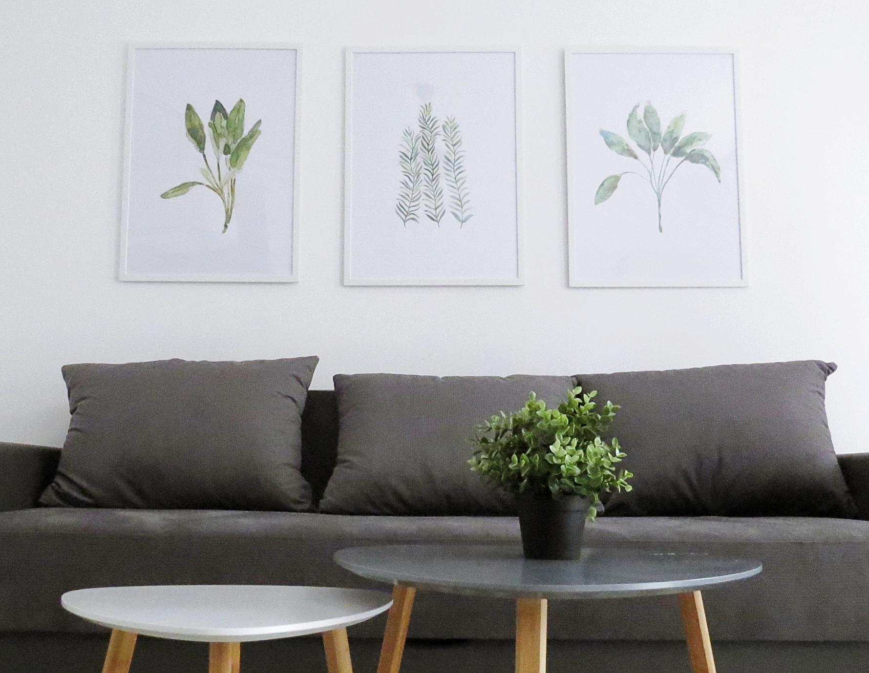 diy minimalist decor paintings
