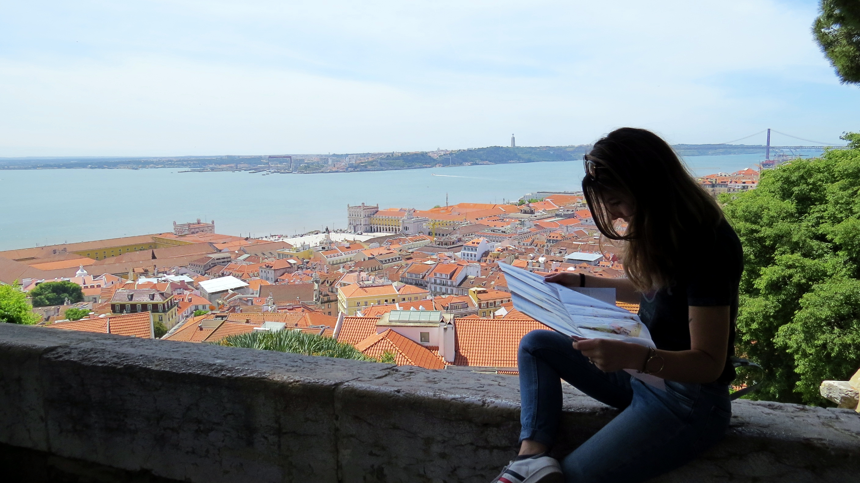 Sao Jorge Castle, Going to Belem & Beach Day – Lisbon day 5, 6 & 7