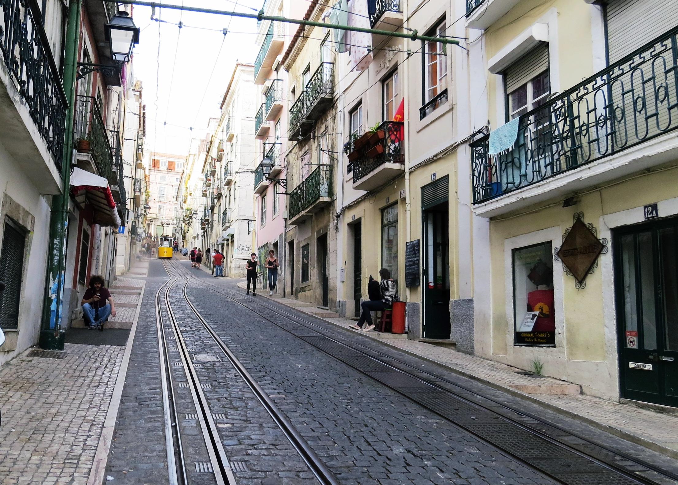 lisbon tram, travel blog owlipop