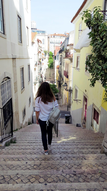 travel blog, arriving in lisbon