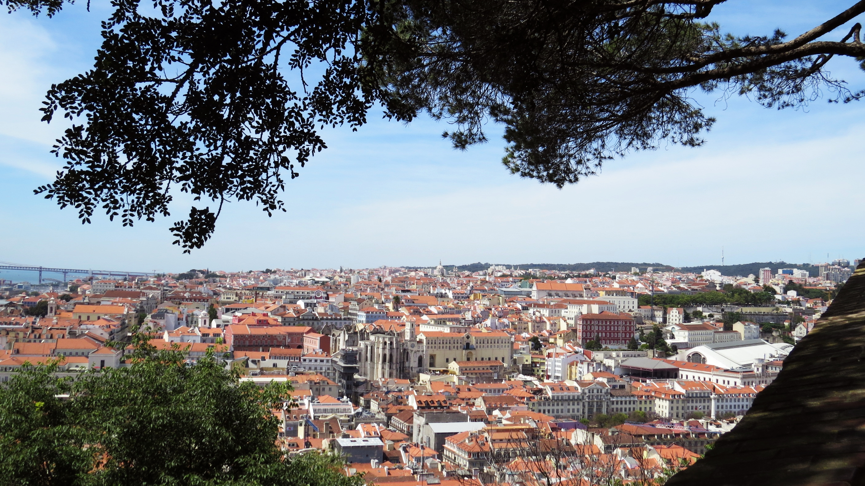 Sao Jorge Castle Lisbon view