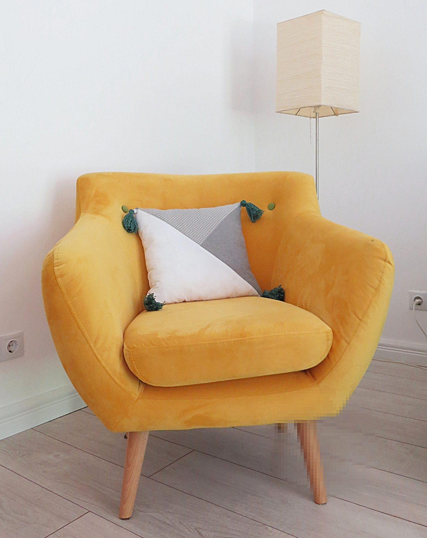 DIY Minimalist Geometric Tassel Pillow