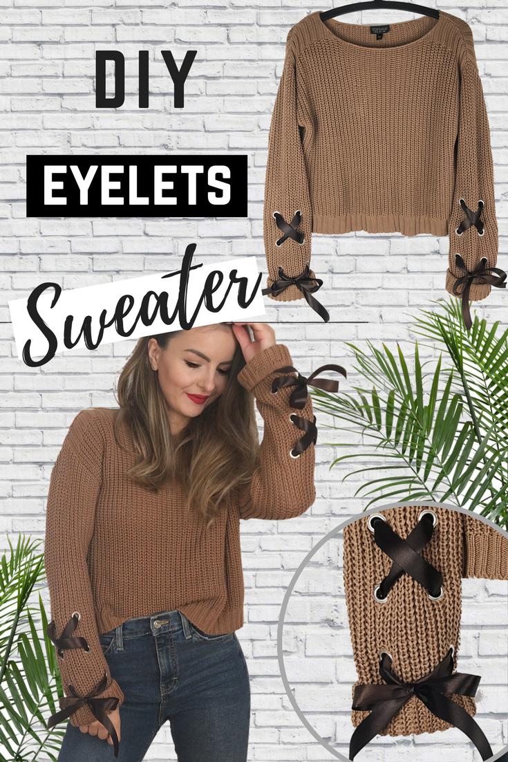 eyelets sweater